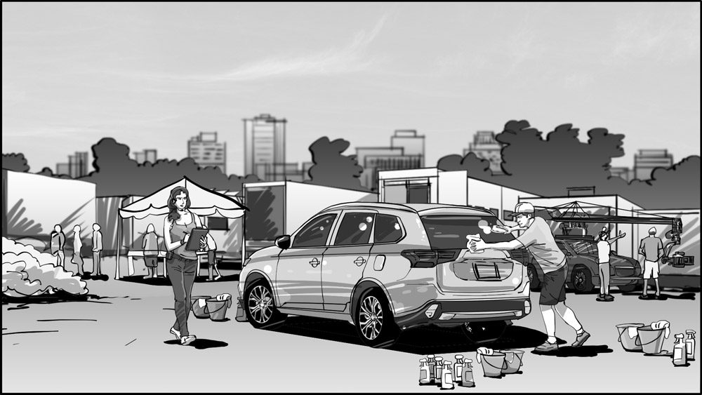 MItsubishi Outlander Surprising Detail storyboard-1