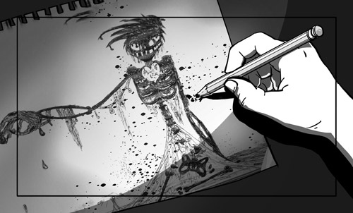 Hunger Pains 59B9 storyboard post-featured