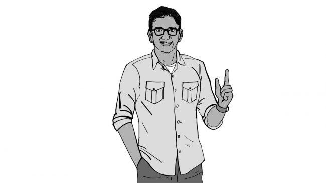 Animatic character Vivek-2