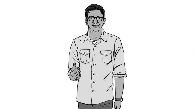 Animatic character Vivek-3