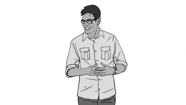Animatic character Vivek-4