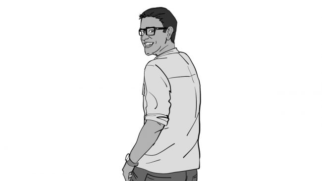 Animatic character Vivek-5