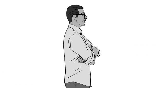 Animatic character Vivek-7