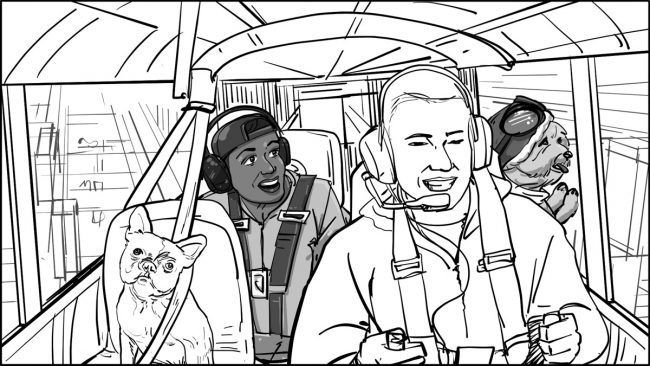 Seattle with Charlie and HC storyboards-4