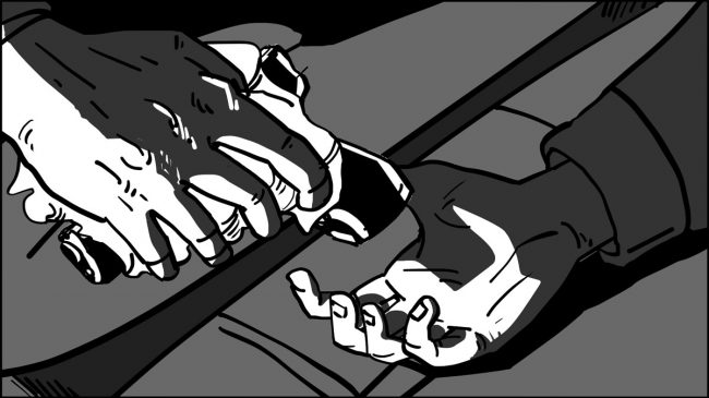 Gordo's Murder Sequence Storyboards-12-1