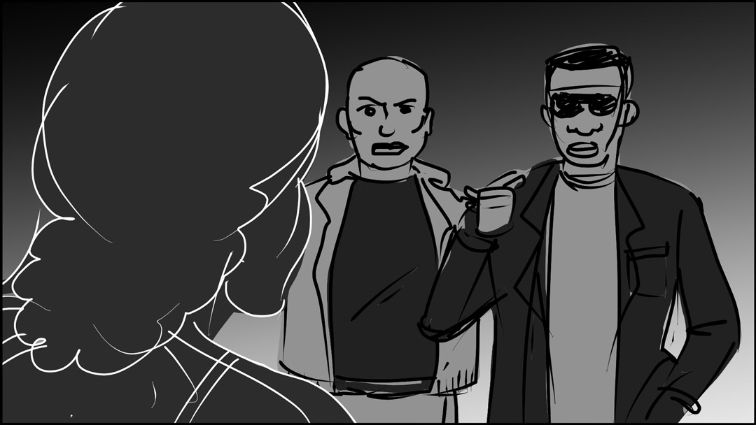 Storyboard: Two detectives scene-12