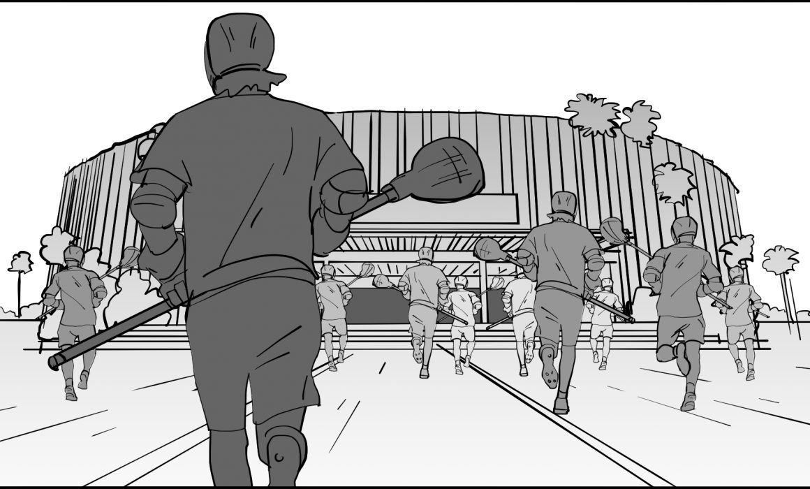 Storyboard sequence lacrosse 9