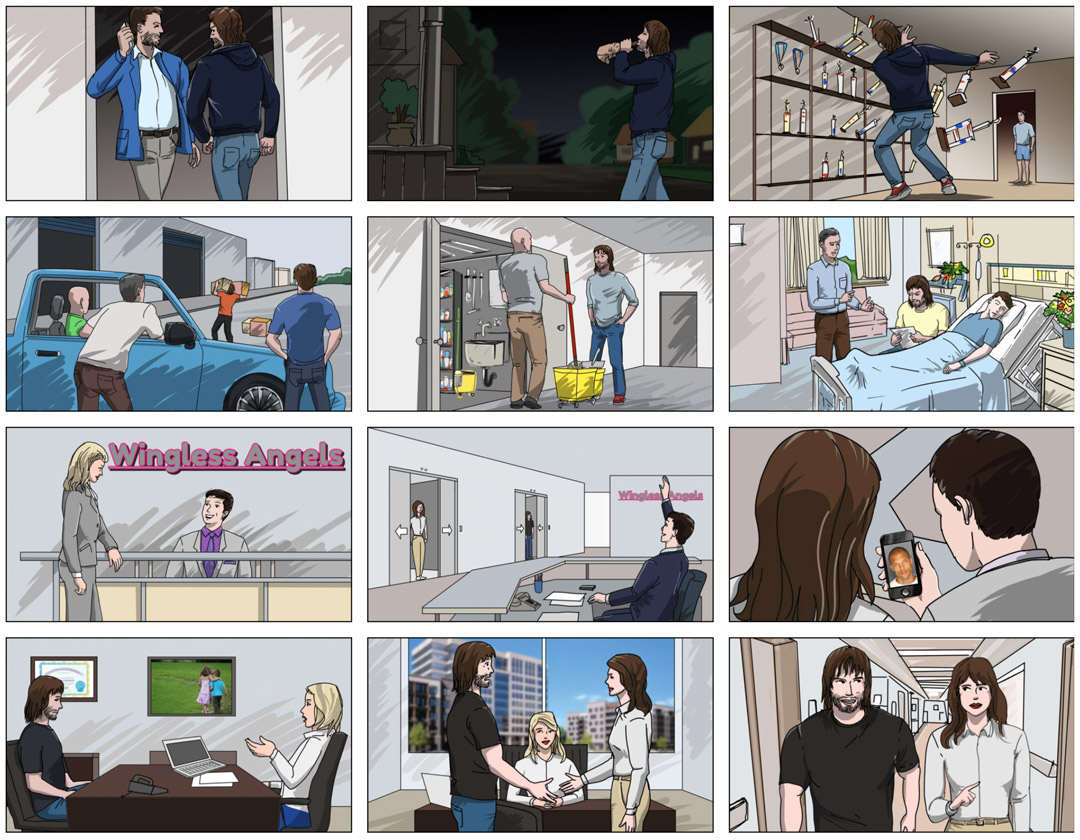 V storyboard sequence 4