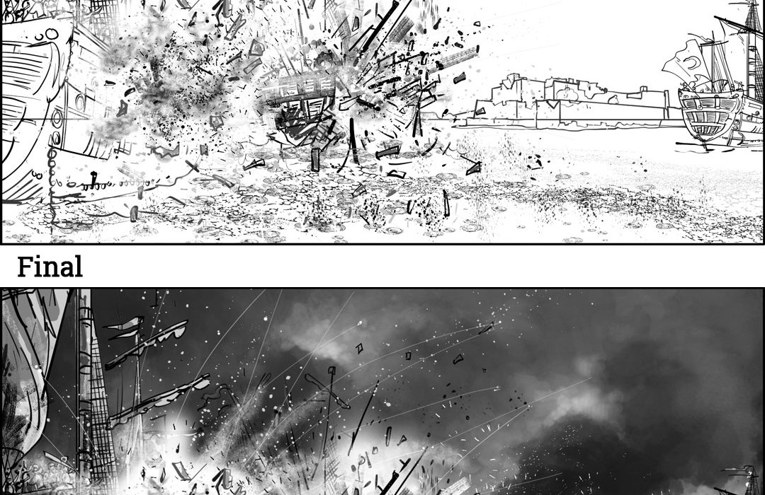 Opening Sequence For Strategic Game Storyboards-9