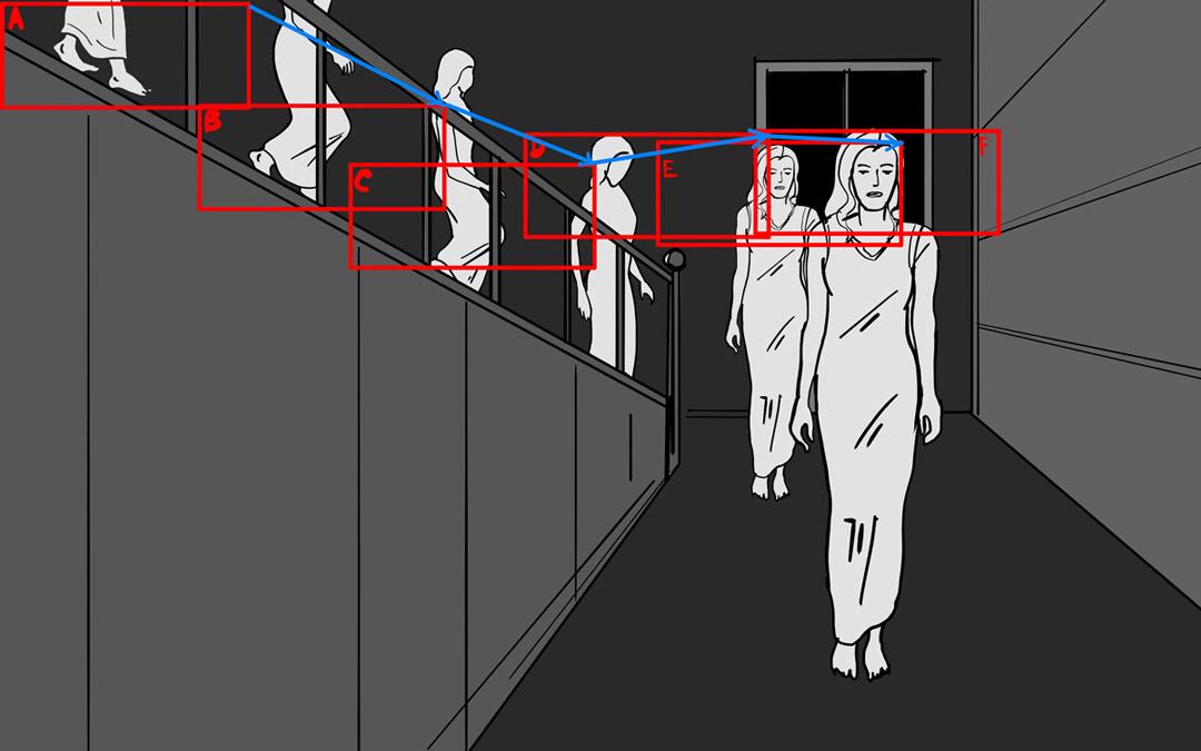 Storyboarding A Tracking Shot: TGITC-Storyboards-26A-B-C-D-E-F