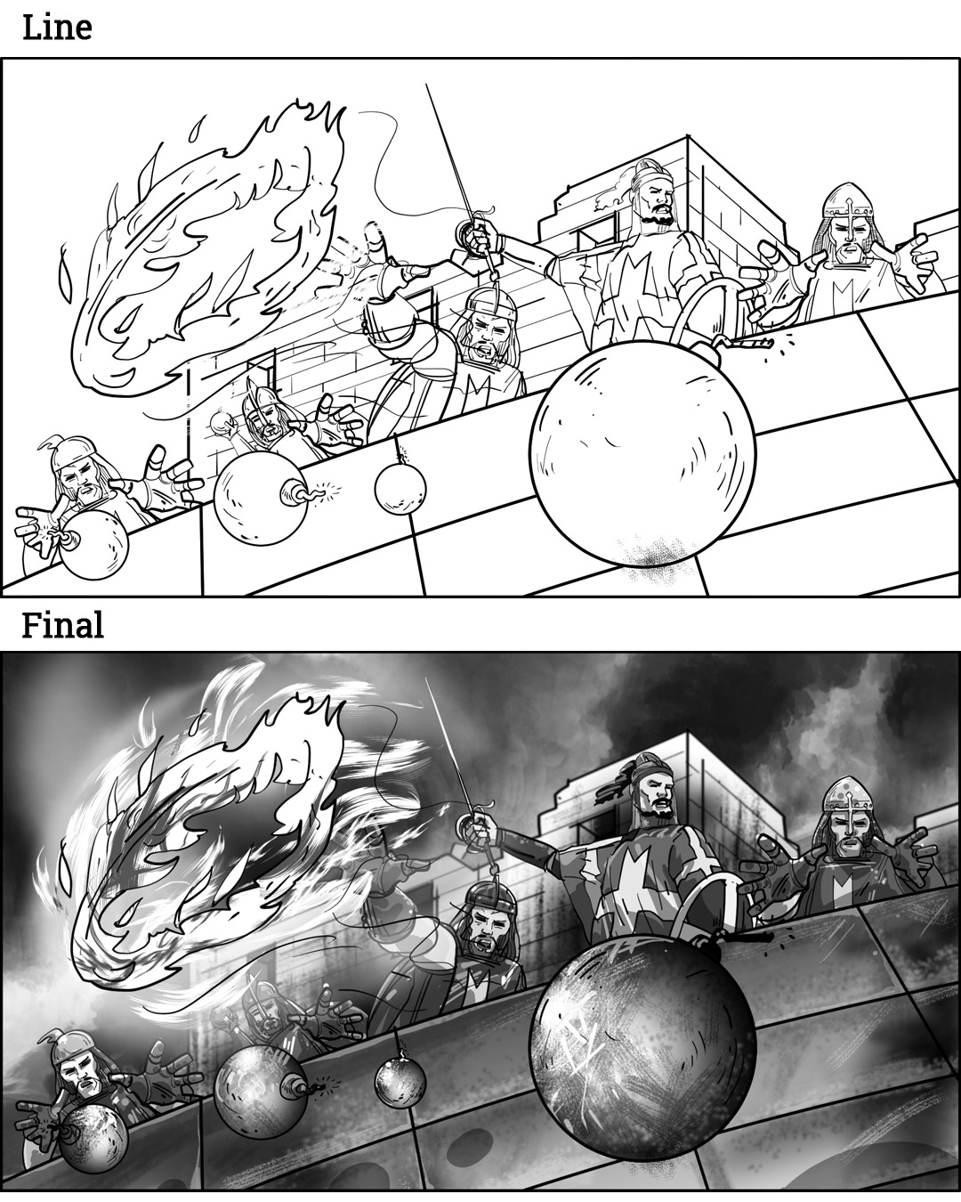 Detail Opening Sequence For Strategic Game Storyboards-10