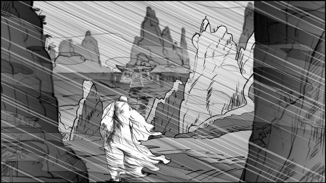 Shaolin kung fu monk-mountain journey