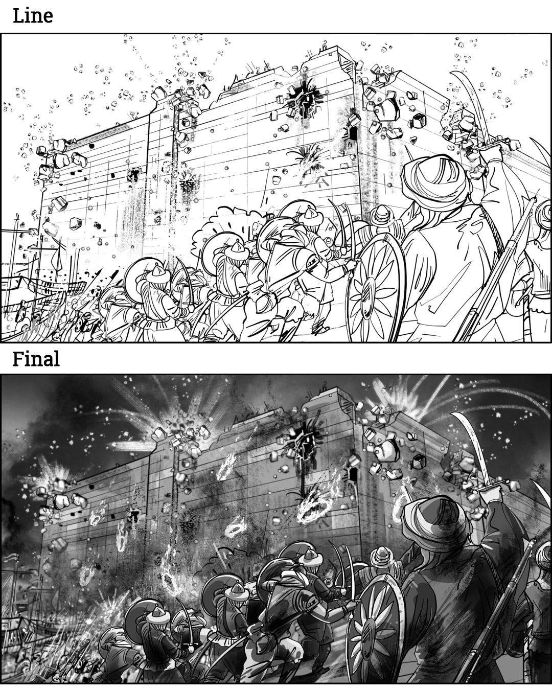 Detail Opening Sequence For Strategic Game Storyboards-11