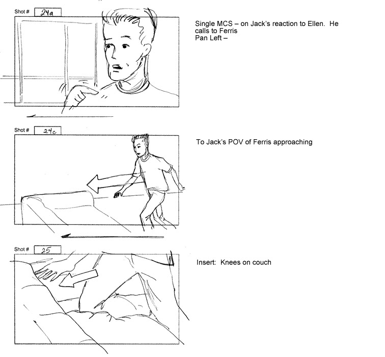That Darn Bear storyboards-page 9