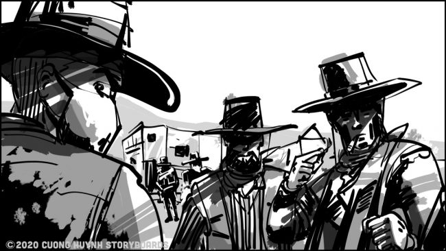 Storyboards: Three gringos