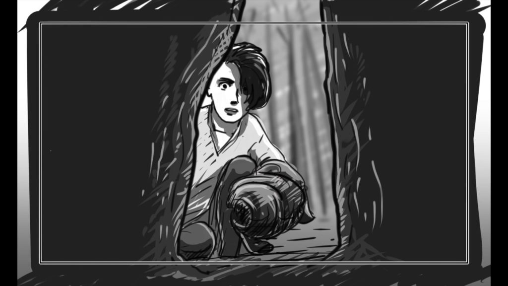 Animatic: Sam Checking Out the Hollow