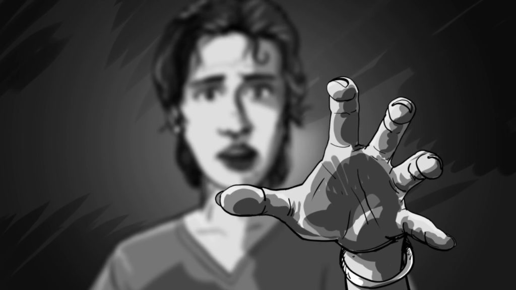 Animatic: POV of Mama Reaching Out to Sam