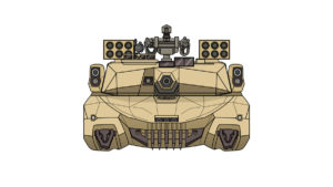 GT illustration-front view